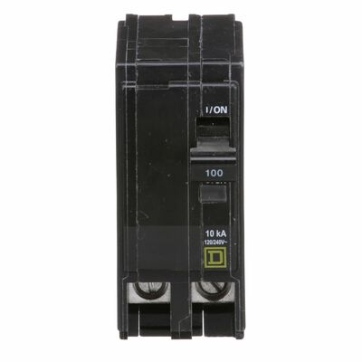 Square D QO Double Pole 100 amps Circuit Breaker