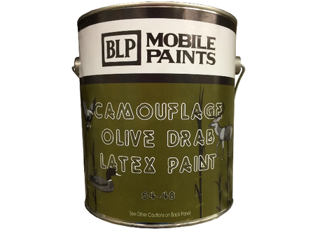 Camouflage Olive Latex Paint - Gallon