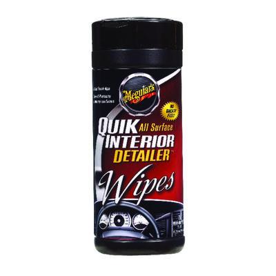 Meguiar's Quik Interior Multi-purpose Cleaner 25 wipes