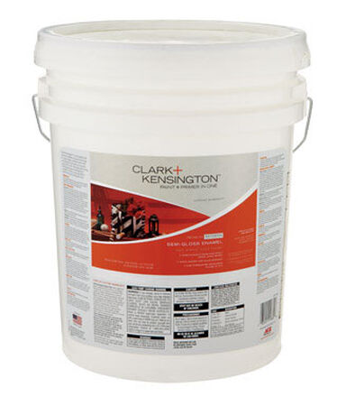 Clark+Kensington Exterior Exterior Acrylic Latex Enamel Paint White 5 gal.