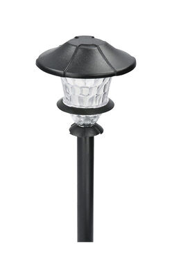 Paradise Low Voltage LED Pathway Light Black 0.3 watts 1 pk