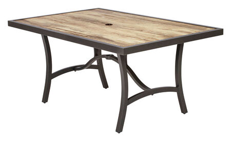Living Accents Avalon Dining Set Gray