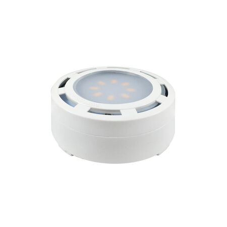 AmerTac Plug-In LED Under Cabinet Light Puck White 600