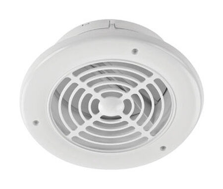 Imperial Exhaust Vent 4 in. W White