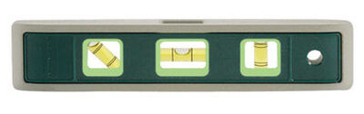 Johnson Aluminum Torpedo Level 9 in. L