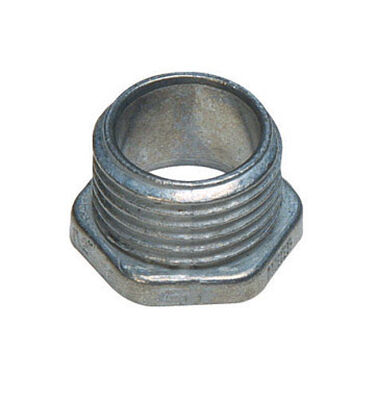 Sigma 1 in. Dia. Zinc Electrical Conduit Nipple