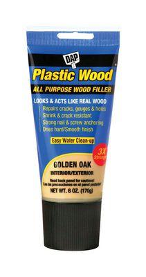 DAP Plastic Wood Golden Oak Wood Filler 6 oz.