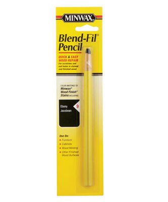 Minwax Blend-Fil No. 9 Ebony and Jacobean Wood Wood Pencil Transparent