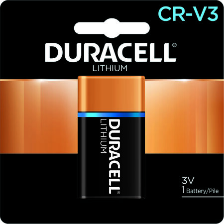 Duracell Ultra Lithium CRV3 3 volts Camera Battery DLCRV3BPK