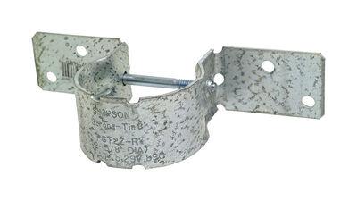 Simpson Strong-Tie Galvanized Steel Pipe Grip Tie 12 Ga.