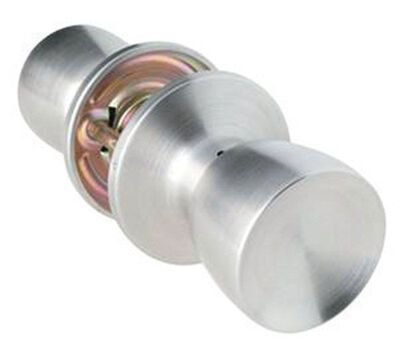 Home Plus Satin Chrome Tulip 1-3/4 in. Passage Lockset 3 Grade Left Handed Right Handed