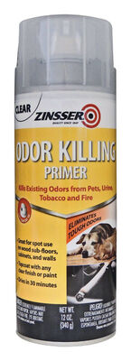Zinsser Interior Odor Killing Primer 12 oz. Clear