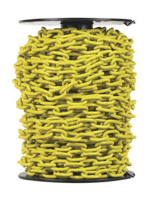 Campbell Chain Single Jack Proof Coil Chain 100 ft. L x 3/16 in. Dia. Yellow Carbon Steel
