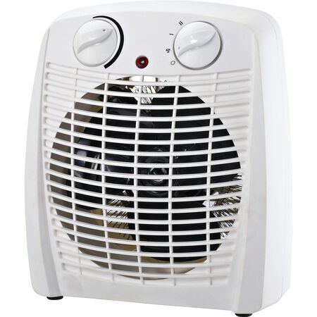 ProFusion Electric Thermostat Heater and Fan White