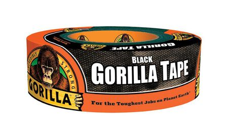 Gorilla Duct Tape 1.88 in. W x 35 yd. L Black
