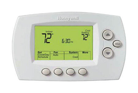 Honeywell 2-1/4 in. H x 3-3/4 in. W Wi-Fi Digital Programmable Thermostat
