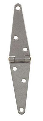 Ace Steel Heavy Duty Strap Hinge 4 in. L Galvanized 1 pk