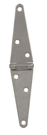 Ace Steel Heavy Duty Strap Hinge 4 in. L Galvanized 1 pk