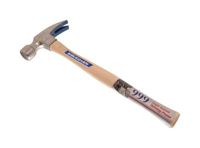 Vaughan 24 oz. Milled Face Hickory Framing Hammer Steel