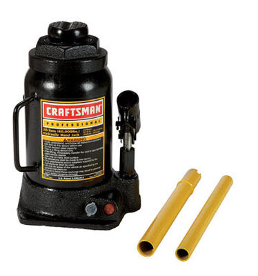 Craftsman Hydraulic Automotive Bottle Jack 20 ton Black