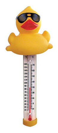 Great American Merchandise Derby Duck Floating Pool Water Thermometer Floating