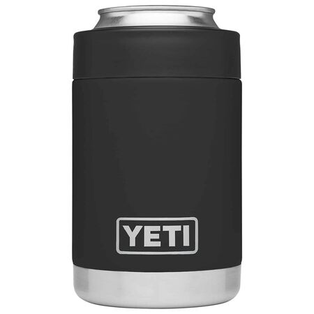 YETI Rambler Colster 12 oz. Can Insulator Black