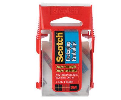 Scotch 2 in. W x 800 in. L Packaging Tape Clear