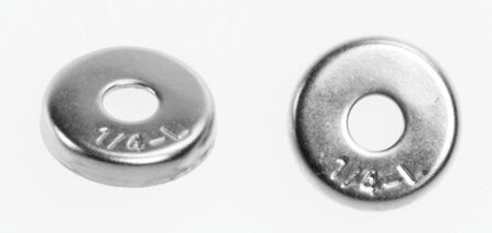 Danco 1/4 in. Dia. Stainless Steel Washer Retainer 1
