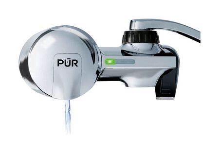 PUR Maxion Horizontal Faucet Mount Filter 100 gal. Mineral Clear