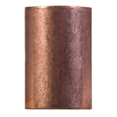 Elkhart 1 in. Dia. x 1 in. Dia. Sweat To Sweat Copper Coupling With Stop