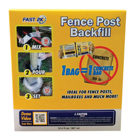 Fast 2K 12.4 oz. Fence Post Backfill
