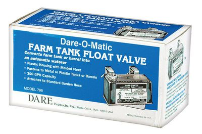 Dare-O-Matic Plastic Tank Float Valve