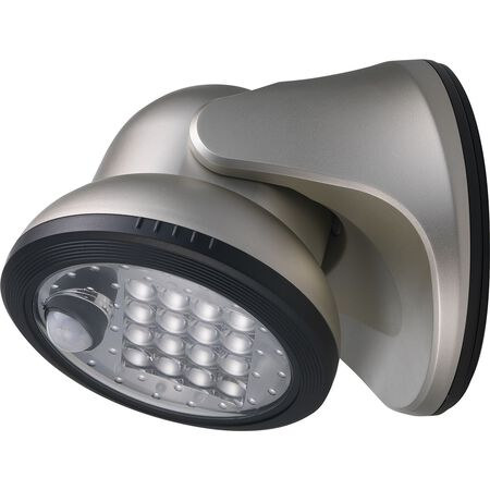 Light It! Motion Activated Outdoor Wall Light Silver