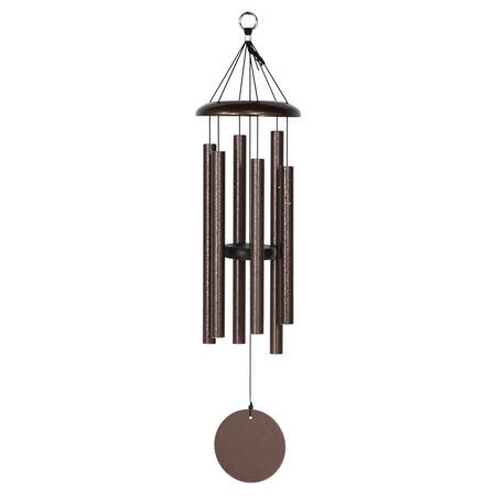 "Corinthian Bells, 29"" Copper Vein Windchime"