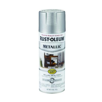 Rust-Oleum Stops Rust Silver Metallic Metallic Spray 11 oz.