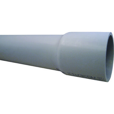 Cantex 1-1/4 in. Dia. x 10 ft. L Electrical Conduit Rigid PVC