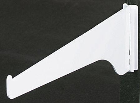 Knape & Vogt Steel White 16 Ga. Shelf Support Bracket 8 in. L
