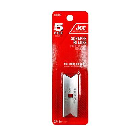 Ace Scraper Blade 2-1/4 in. W Steel