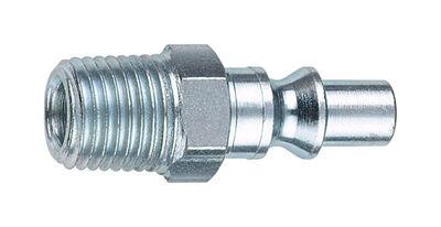 Tru-Flate Steel Air Plug 1/4 in. MNPT Male A