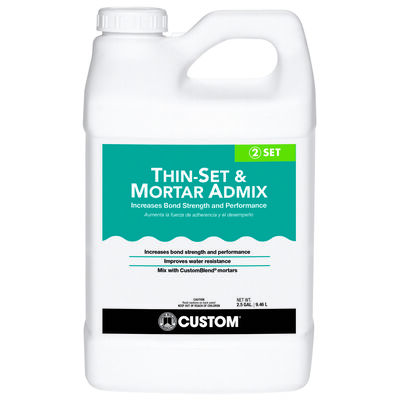 Custom Acrylic Mortar Admix 2.5 gal.
