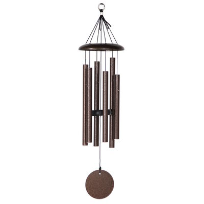 "Corinthian Bells, 27"" Copper Vein Windchime"