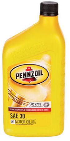 Pennzoil SAE 30 Motor Oil 1 qt.