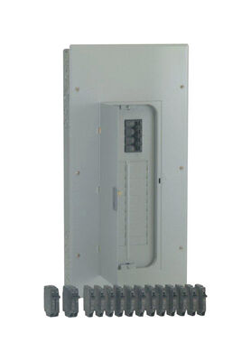 GE PowerrMark Gold 200 amps 20 space 40 circuits 240 volts Plug-In Double Pole Main Breaker Load