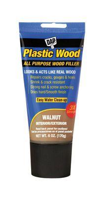 DAP Plastic Wood Walnut Stainable Wood Filler 6 oz.