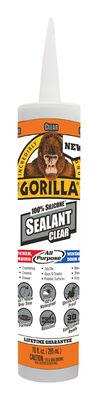 Gorilla Silicone Sealant Clear 10 oz.
