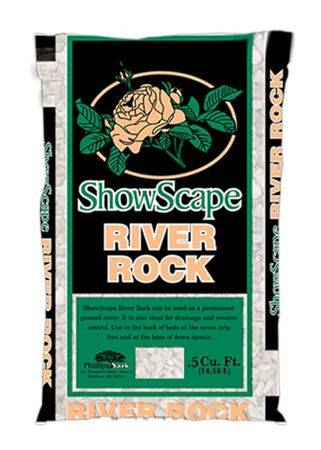 ShowScape Decorative Stone River Pebbles 0.5 cu. ft.