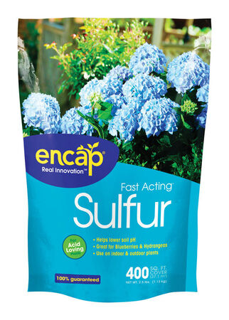 Encap Fast Acting Sulfur Soil Acidifier 400 sq. ft. 2.5 lb. Bag