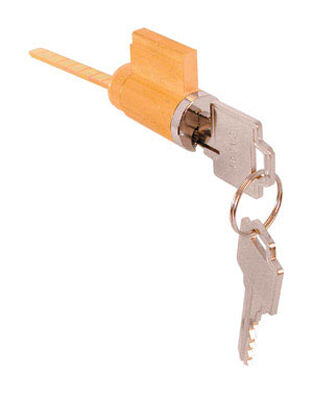 Prime-Line Solid Brass Cylinder Lock For Used to Keylock Most Surface Mount Handle Sets 2-7/8 in.