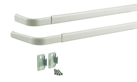 Kenney Sash Rod 48 in. L Enamel Off White