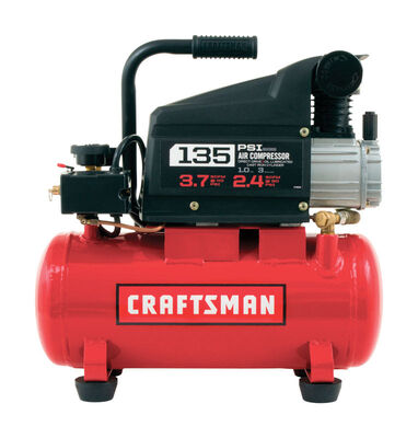 Craftsman Horizontal Air Compressor 135 psi 1 hp